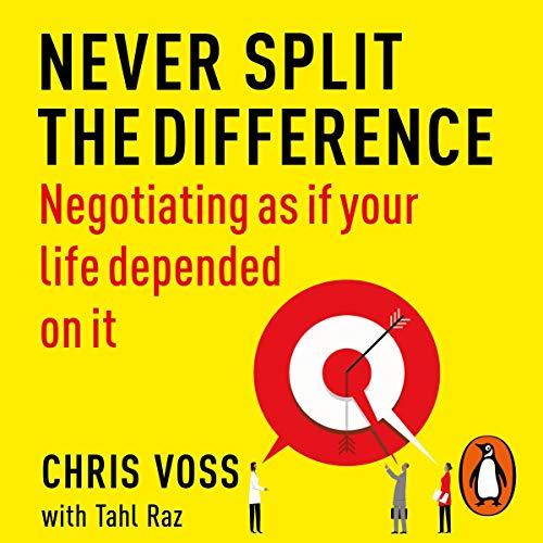 vaurastumiseen liittyvä kirja, never split the difference